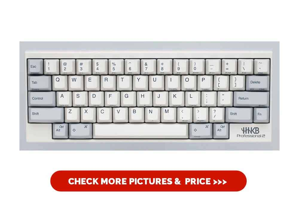 Happy Hacking Keyboard Professional2 (White)