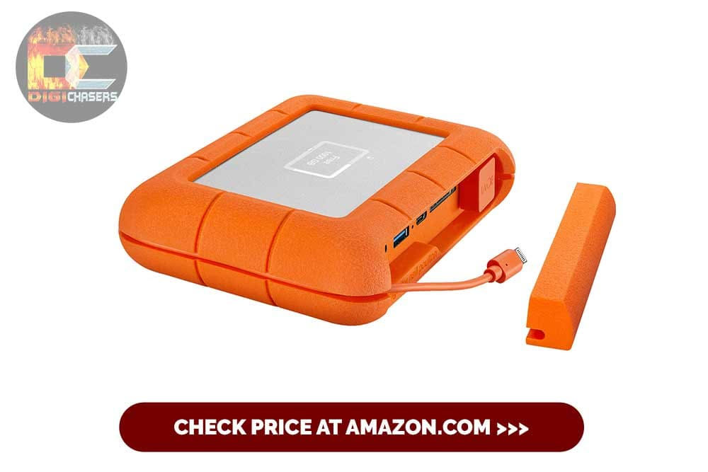 LaCie Rugged SSD 1TB Solid State Drive for photography