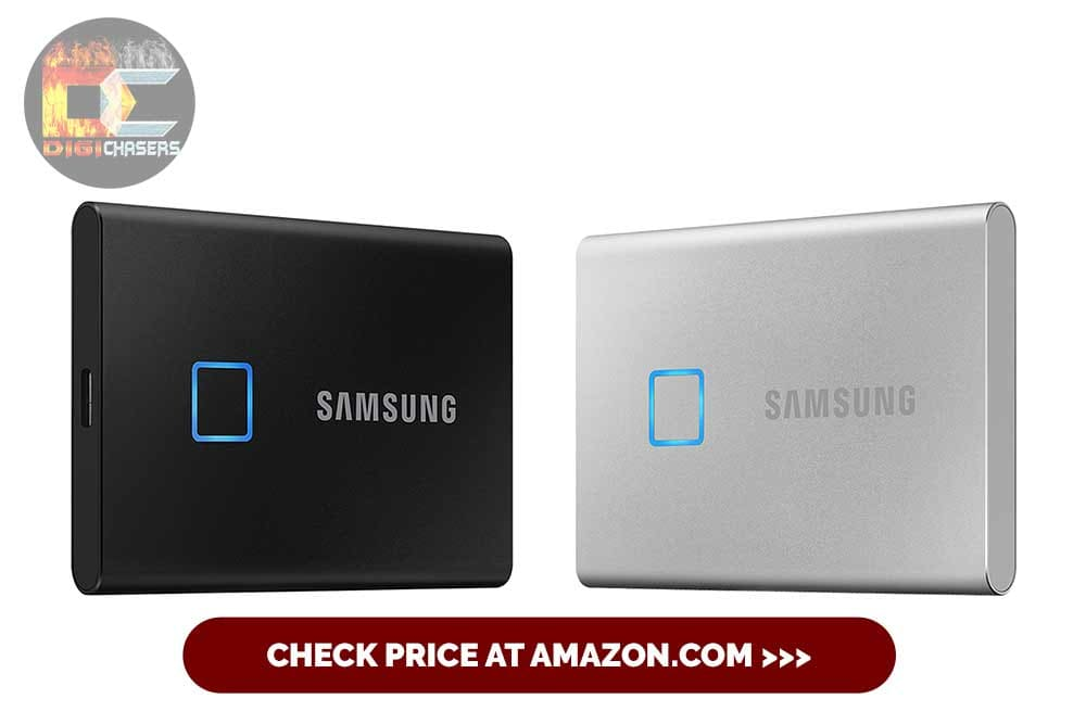 SAMSUNG T7 Portable SSD 2TB for graphics editing and video